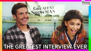 Video The Greatest Interview Ever! (Hugh Jackman, Zac Efron, Zendaya, Keala Settle) | The Greatest Showman MP3, 3GP, MP4, WEBM, AVI, FLV April 2018