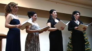 Four Sopranos Concert at St. Vartan Armenian Cathedral of New York