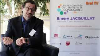 Rencontres RSE : Emery Jacquillat, Camif Matelsom