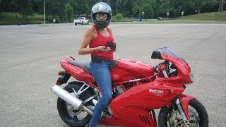 6. A Little Ride with the Wife Ducati 800 Super Sport