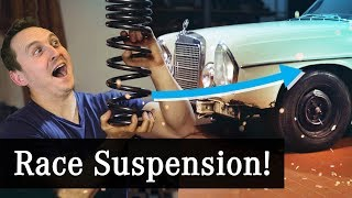 Fitting RACE Suspension To My 50-Year-Old Rally Car by Car Throttle