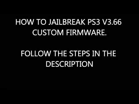 Jailbreak PS3 3.66 PS3UPDAT.PUP **FIXED VERSION**