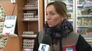 Feytiat France  City pictures : Casse d'un supermarché à Feytiat