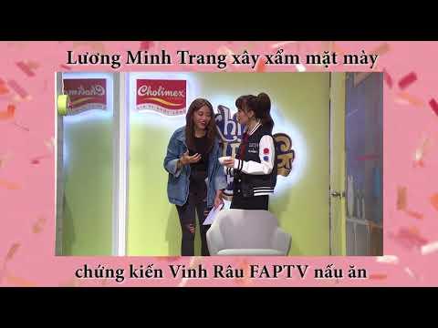 Lương Minh Trang xây xẩm mặt mày nhìn Vinh Râu FAPTV nấu ăn | Khi Chàng Vào Bếp tập 7 - Thời lượng: 49 giây.