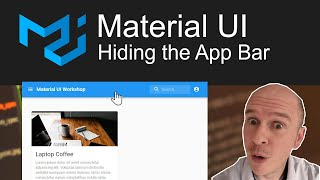 How to hide the App Bar using a scroll trigger in Material UI