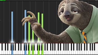 Zootopia Medley [Piano Tutorial] (Synthesia) // PianoPrinceOfAnime