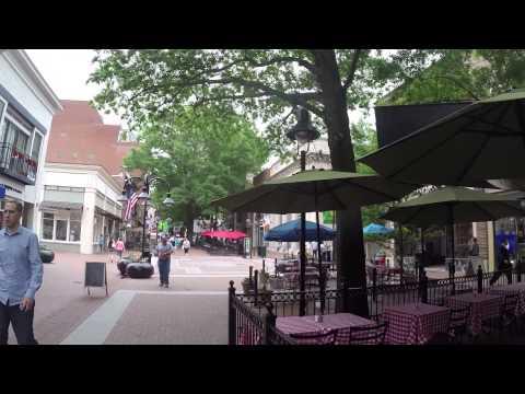 Beautiful Charlottesville Virginia Walk - Part 1