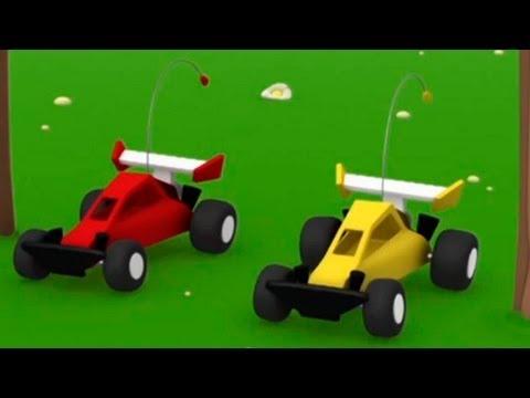 Мультики Детям - Мусти - Автогонки (видео)