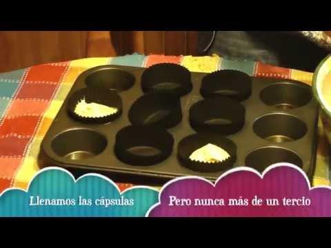 Receta básica para cupcakes de vainilla