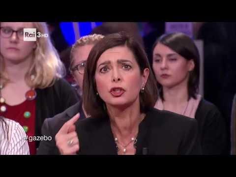 """laura boldrini: """"non abbasso la testa, bisogna combattere il bullismo!"""""""