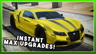 Midas Touch Mod (INSTANT MAX CAR UPGRADES!) - GTA 5 PC MODS