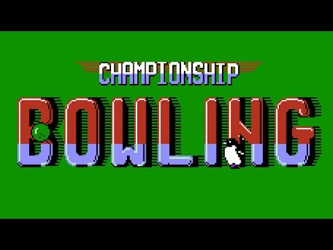 championship bowling nes rom cool