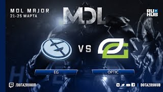 EG vs OpTic, MDL NA, game 2 [Mortalles]