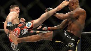 Video Anderson Silva vs Nick Diaz FIGHT HIGHLIGHTS MP3, 3GP, MP4, WEBM, AVI, FLV Februari 2019