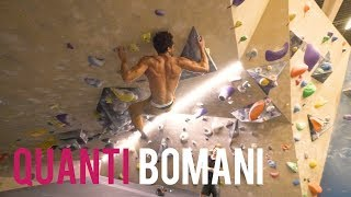 Bouldering With - Quanti Bomani! by Eric Karlsson Bouldering