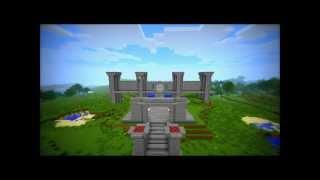 Minecraft Time Lapse Castle Part 1