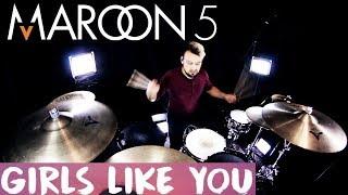 Video Maroon 5 - Girls Like You ft. Cardi B (Drum Remix) MP3, 3GP, MP4, WEBM, AVI, FLV Agustus 2018