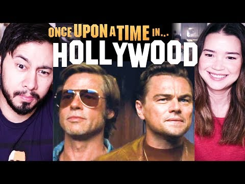 Download ONCE UPON A TIME IN HOLLYWOOD | Tarantino | Trailer #2 Reaction! MP3