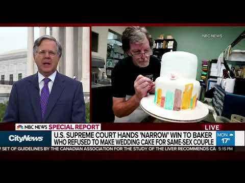 Court rules in favour of baker on same-sex wedding cake