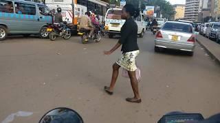 Crazy Boda Boda Ride, Kampala, Uganda