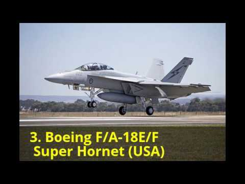 Top 10 Incredibly Advanced Jet...