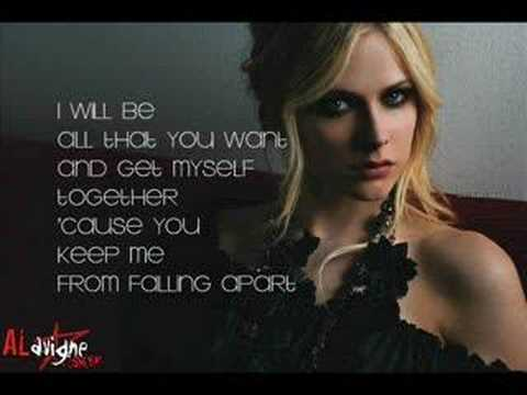 I Will Be - Avril Lavigne (lyrics)