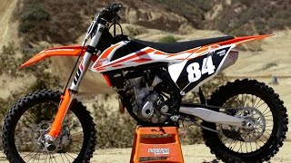 2. First Ride 2017 KTM 250SXF - Motocross Action Magazine