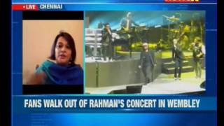 Language war takes a new turn now and this time the victim is none other than Music Maestro AR Rahman. At a concert held in ...