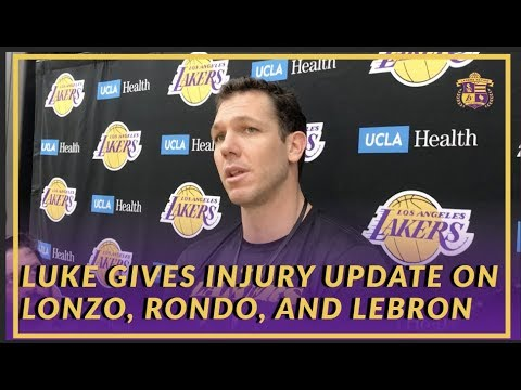Video: Lakers Interview: Luke Walton Believes Lonzo Was Turning a Corner Before His Ankle Injury