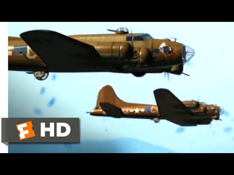 Company of Heroes (2013) - Bombing Raid Scene (10/10) | Movieclips