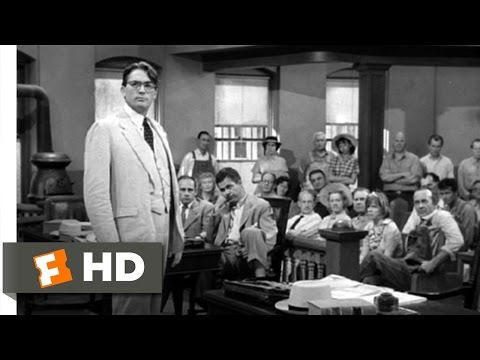 Atticusssssss - To Kill a Mockingbird Movie Clip - watch all clips http://j.mp/zaZY18 click to subscribe http://j.mp/sNDUs5 Atticus (Gregory Peck) points out the obvious ine...
