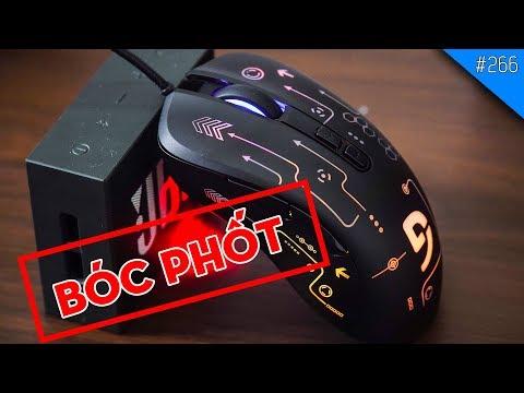 ''BÓC PHỐT'' SWITCH CHUỘT ''BẤT TỬ'' trên chuột chơi game giá rẻ Fuhlen G90S