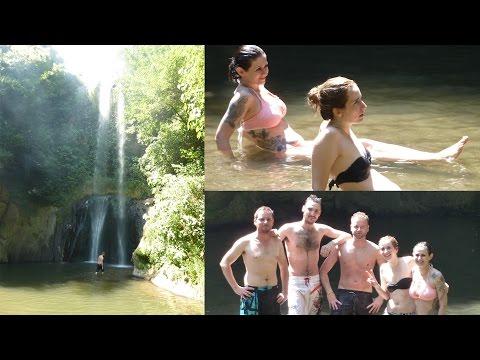 Escursione alle cascate di Cerveteri (vicino Roma)