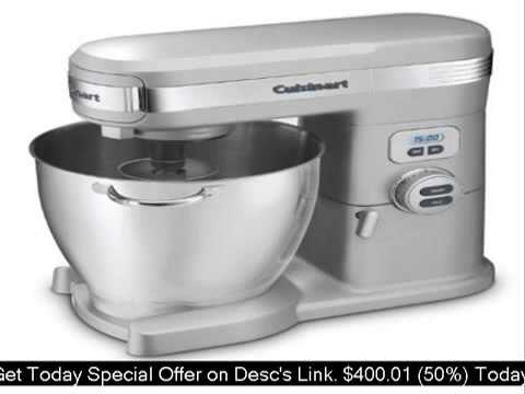 Cuisinart SM-70BC 7-Quart 12-Speed Stand Mixer Brushed Chro