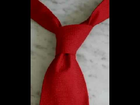 How to Tie a Tie: Four-in-Hand Knot
