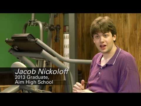 Autism & Exercise – NuStep Donates T4r Recumbent Cross Trainers to Aim High School