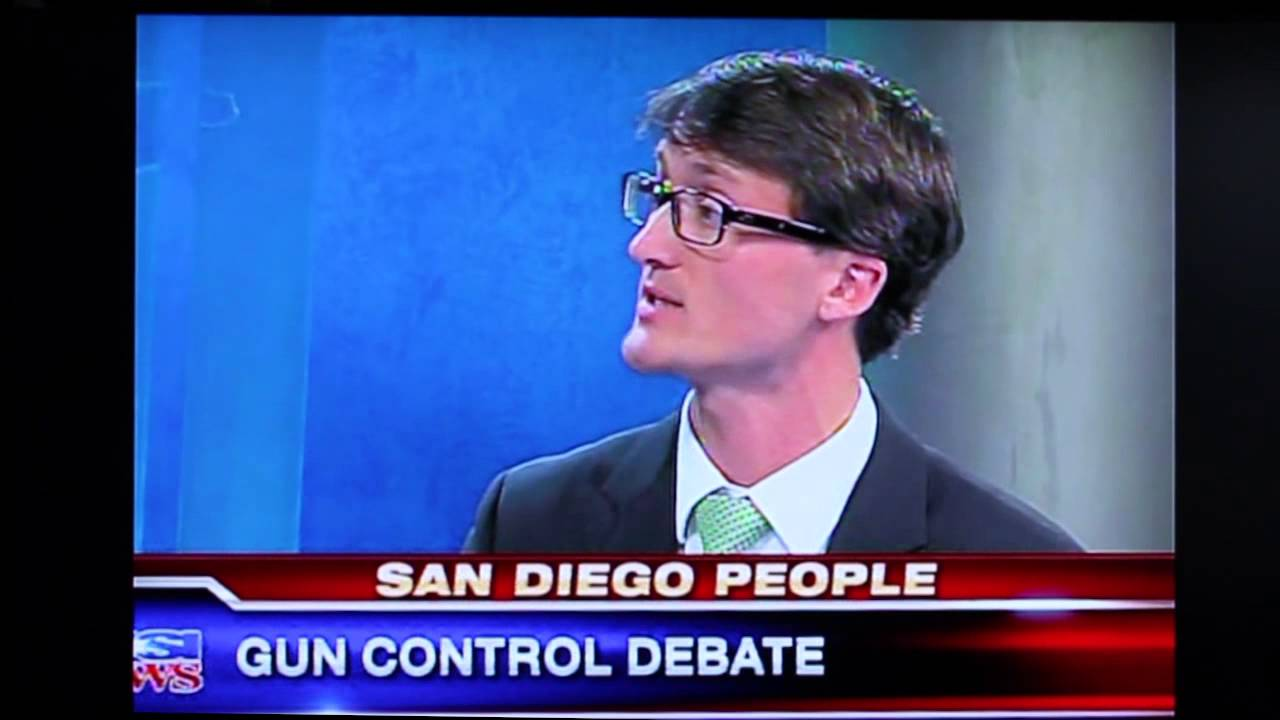 KUSI People – Audrea Debates 2nd Amendment