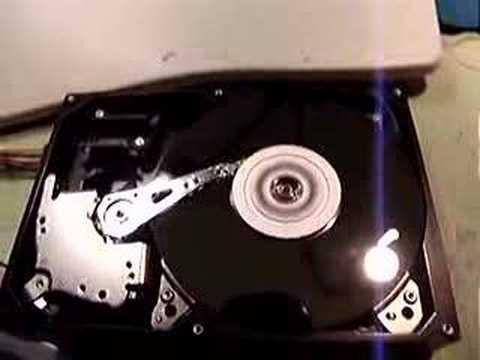 HDD Head Crash