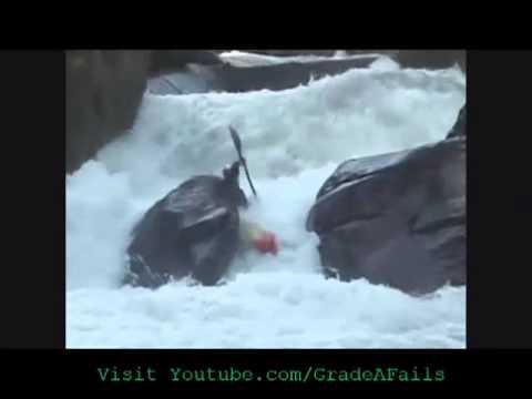 Kayak Crash Compilation 2013 Part 1