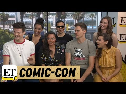 Comic-con 2018: The Cast Of The Flash Talks Season 5 Romance And 'bromance'