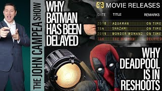 Video The Reason We've Had No Batman News, Deadpool 2 Shooting New Scenes - The John Campea Show MP3, 3GP, MP4, WEBM, AVI, FLV Maret 2018