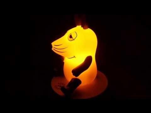Maus Nachtlicht Baby NightLight Einschlafhilfe