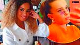 Love Island winner Amber Gill, 22, reveals Millie Bobby Brown, 15, has been messaging her on