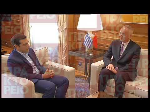 Συνάντηση Αλ. Τσίπρα με τον γγ του ΚΚ Πεκίνου