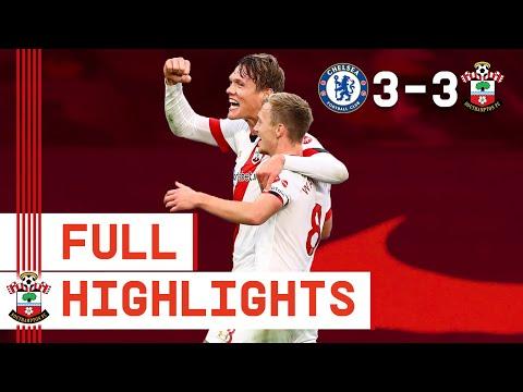 HIGHLIGHTS: Chelsea 3-3 Southampton | Premier League
