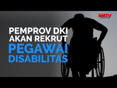Pemprov DKI Akan Rekrut Pegawai Disabilitas