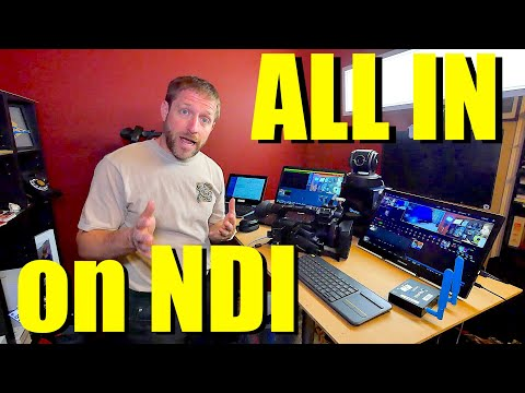 All In On NDI - Ethernet replaces HDMI and SDI for video production.