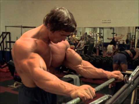 Pumping Iron- Arnold talks about the pump