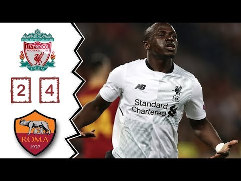 Roma vs Liverpool 4-2 - Goals & Highlights