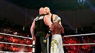 WWE Brock Lesnar vs Big Show vs Rey Mysterio  Brock Lesnar nearly killed Big Show